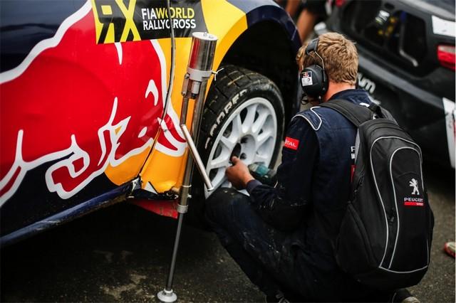Rallycross - Beau podium de Sébastien Loeb et la PEUGEOT 208 WRX à domicile 1614242016RXFrance841