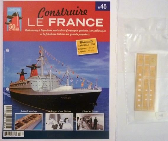 Le france  au 1/250è - hachette-Amati - Page 6 161515Fasc045r