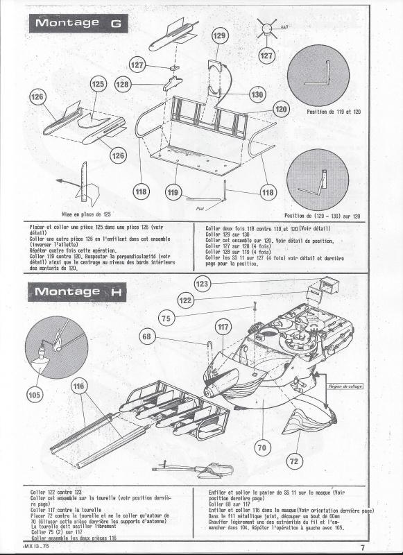 AMX 13 canon de 75 1/35ème Réf L 784 162019AMX1375784008Heller135
