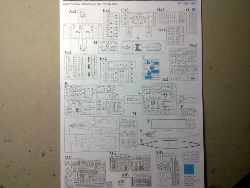 DKM Scharnhorst de  Dragon 1/350° - Page 2 16527515102010824