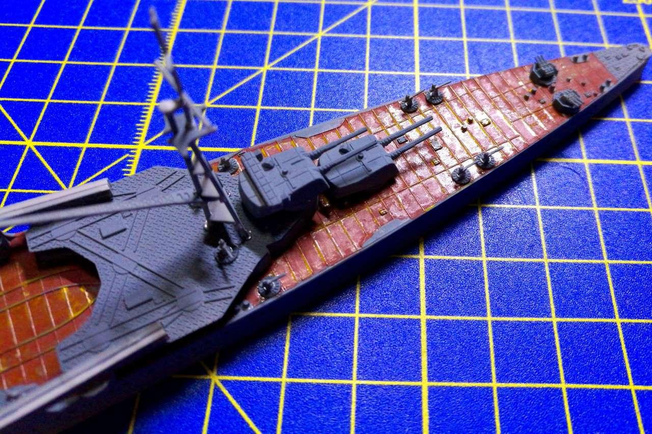 Croiseur TAKAO 1944 1/700 Pit-Road 165291Takao31