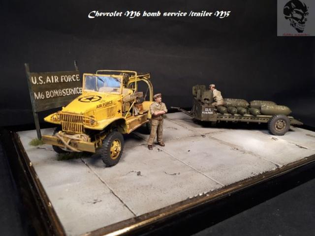 Chevrolet M6 bomb service et bomb trailer M5 1/35 16580520171025143634