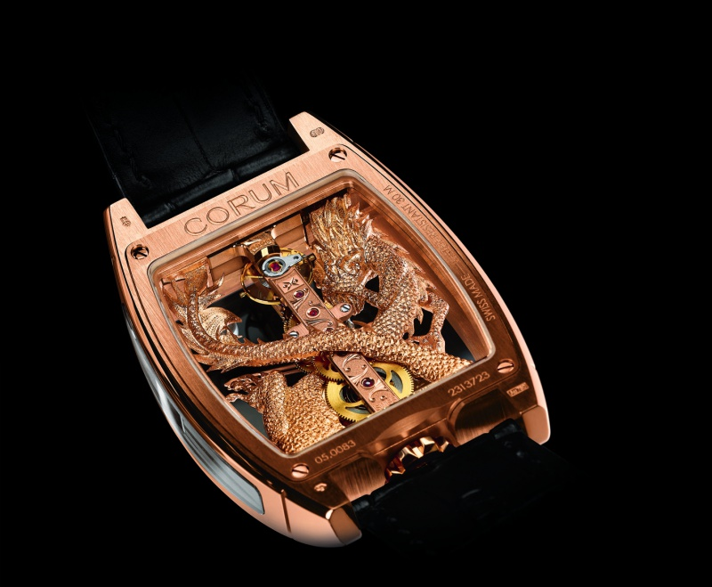 corum - CORUM GOLDEN BRIDGE 1660692GoldenBridgeDragon