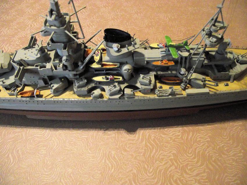 Croiseur de bataille Scharnhorst Heller au 1x400 166471Scharnhorst1x40027
