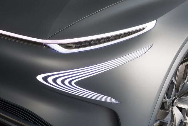 Hyundai a dévoilé son concept Fuel Cell nouvelle génération au salon de l'automobile de Genève 166532FEFuelCellConceptDetail1