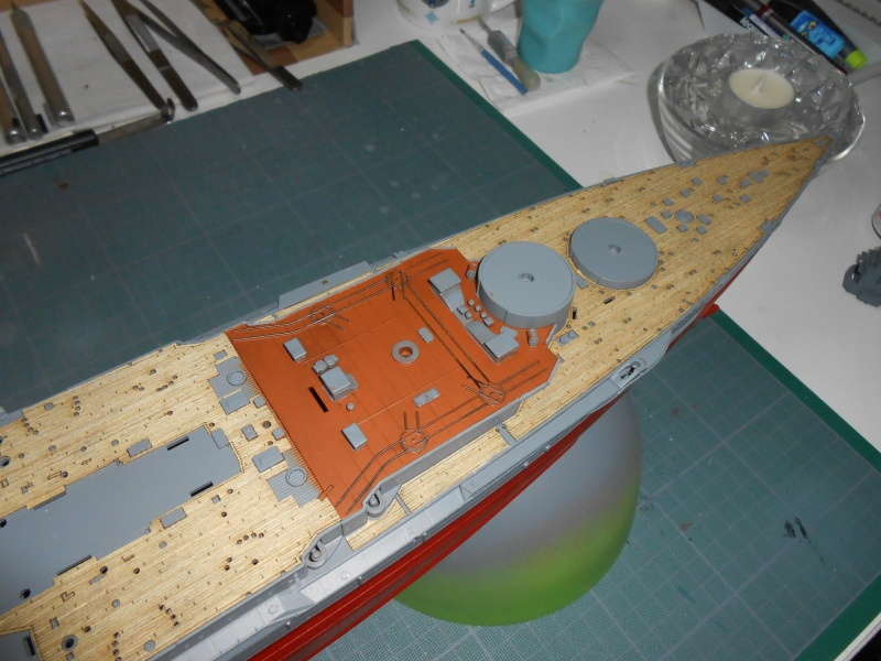 NAGATO Hasegawa 1/350- PE- Ponts en bois - Page 3 166717DSCN6646