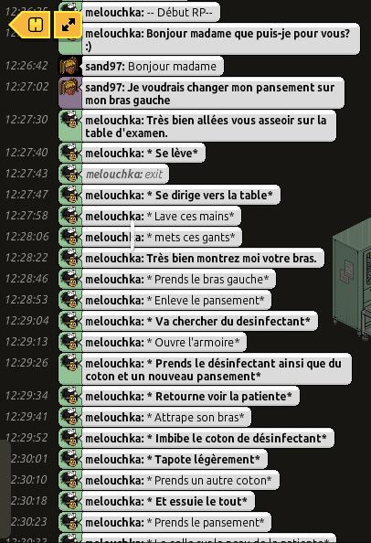 [C.H.U] Rapports d'actions RP de Melouchka 168119sand1