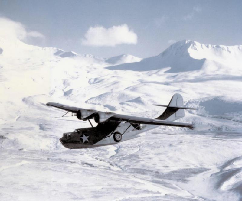 CONSOLIDATED PBY CATALINA  174157PBY5AVP61AleutiansMar1943