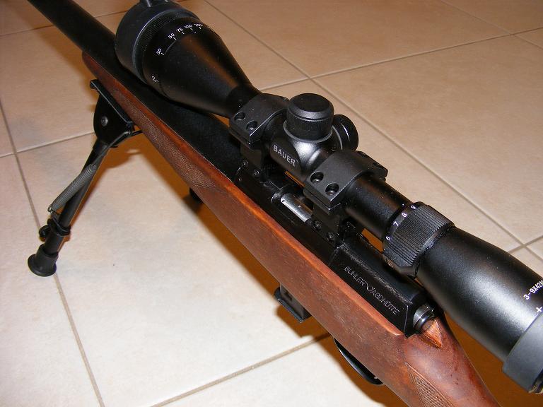 Mes armes longues : Savage Mark II BTVS  et  Custom Silence MK2 + cartons 174238DSCF0593