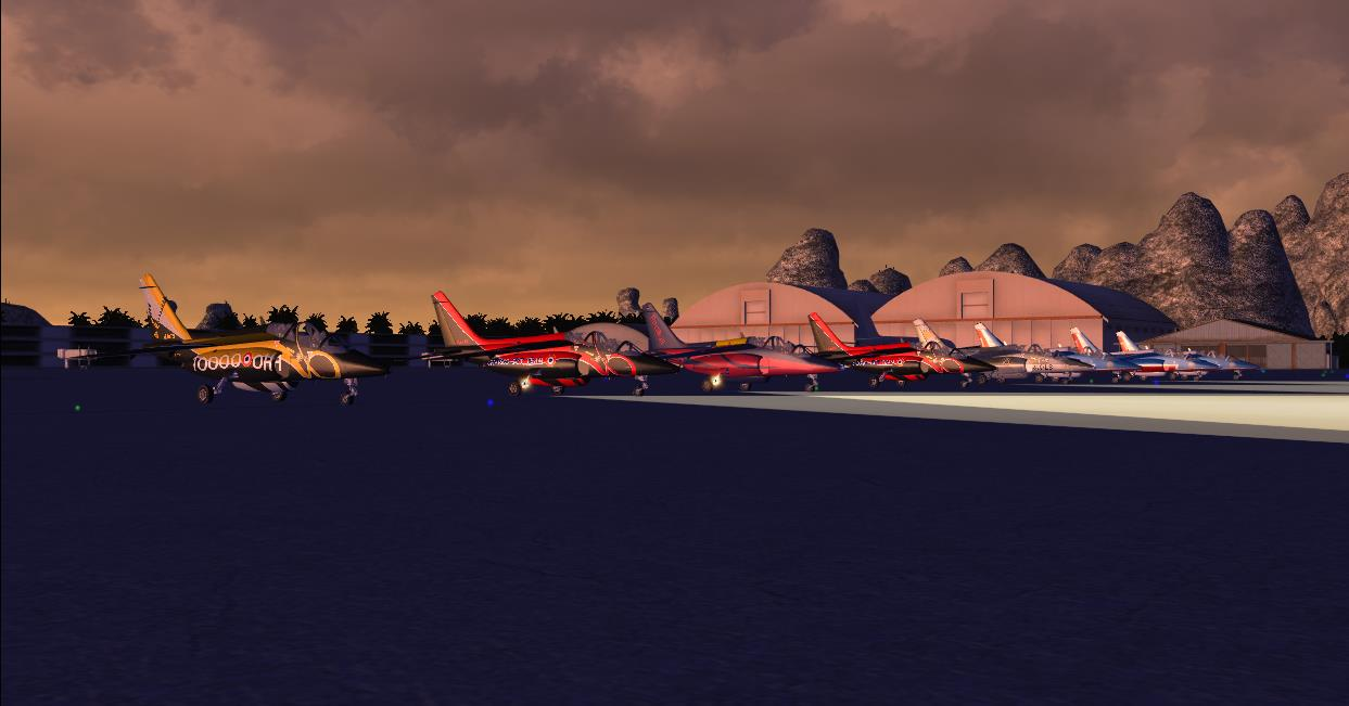 Patrouille Alphajet 174276fsx2013112620421571