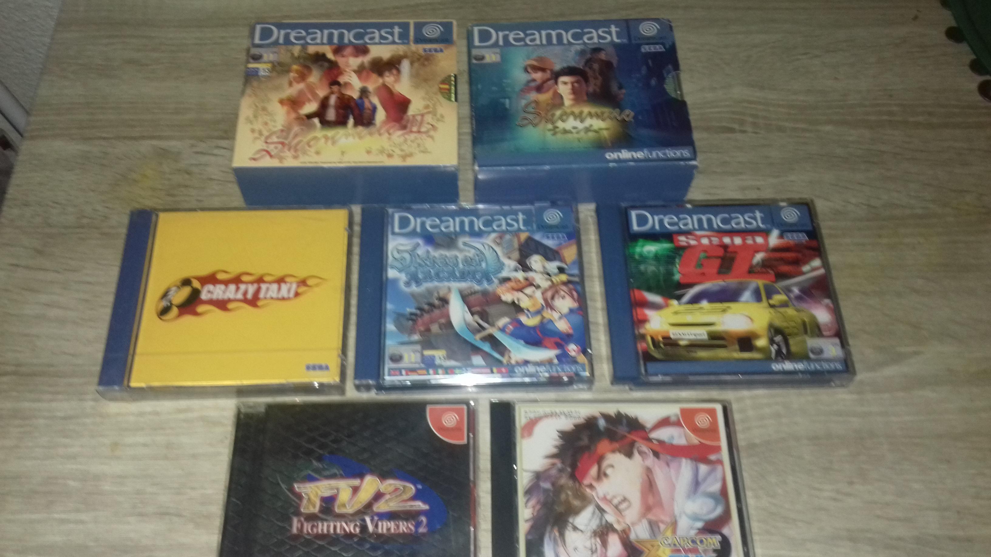 [VDS] Lot Dreamcast + 7 Jeux 17446120170530173033