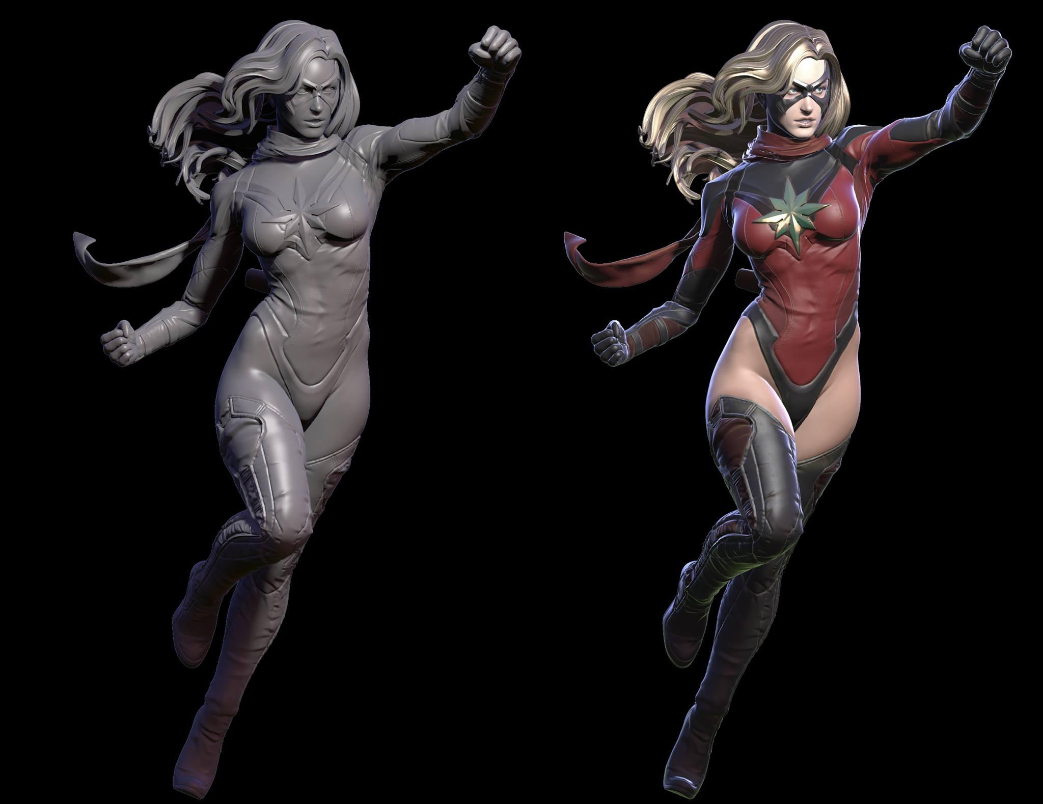 Premium Collectibles : Ms Marvel - Comics Version 1759031038227914243332211207068479797943333968534o