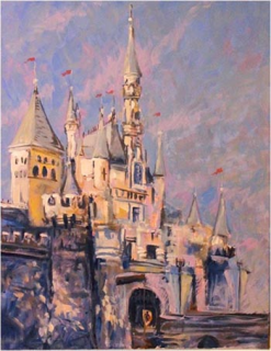 [Disneyland Park] The Disney Gallery - Exposition Crowning Achievements Creating Castles for Magical Kingdoms 176133cas9
