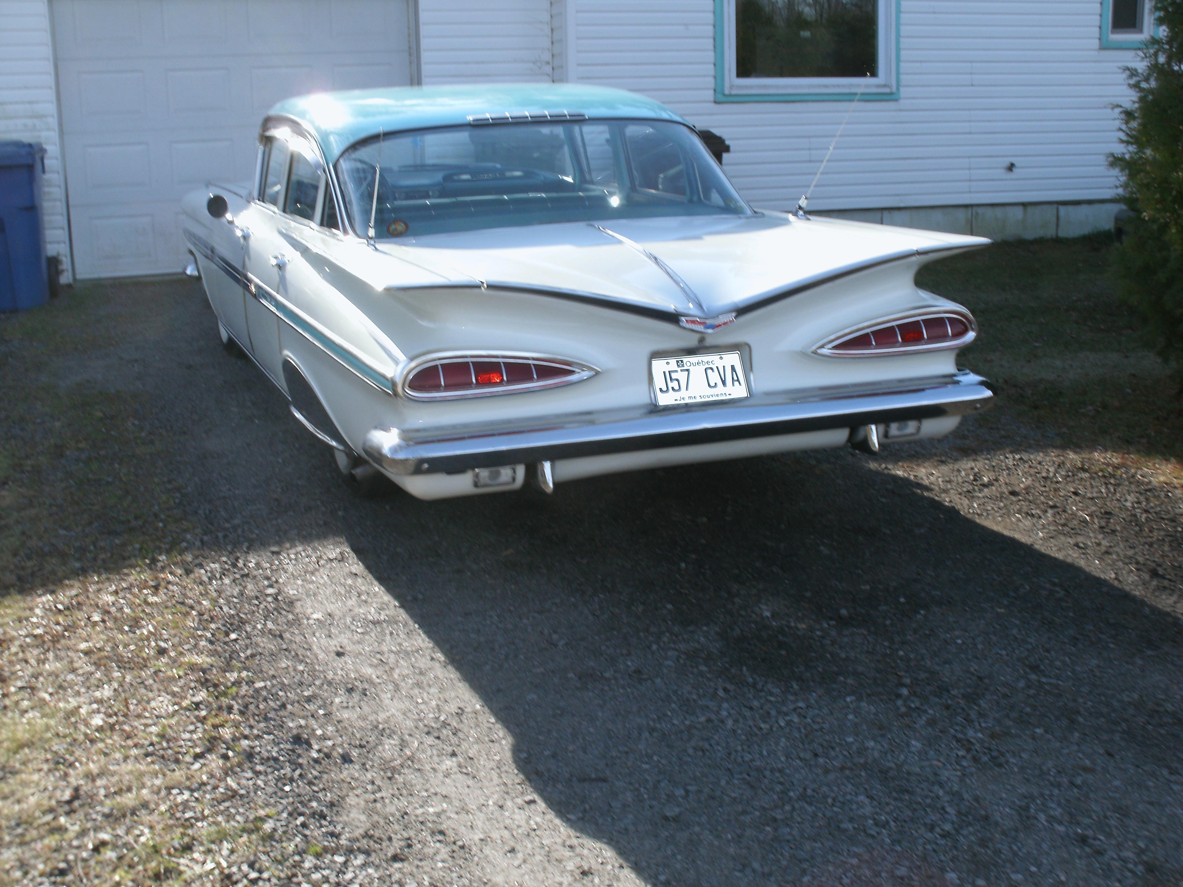 chevrolet impala 1959 a vendre 177208chevroletimpala1959005
