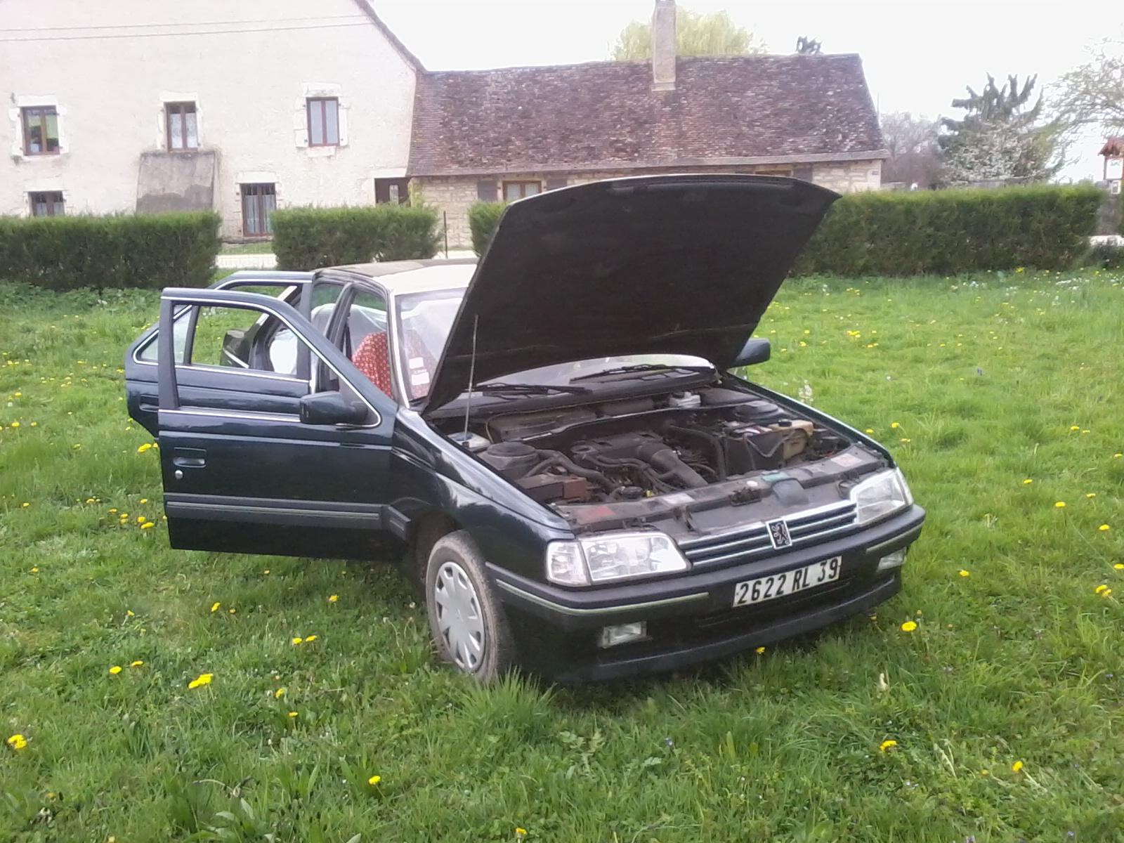 Présentation de ma nouvelle voiture, une Peugeot 405 Signature. 177259Photo0686