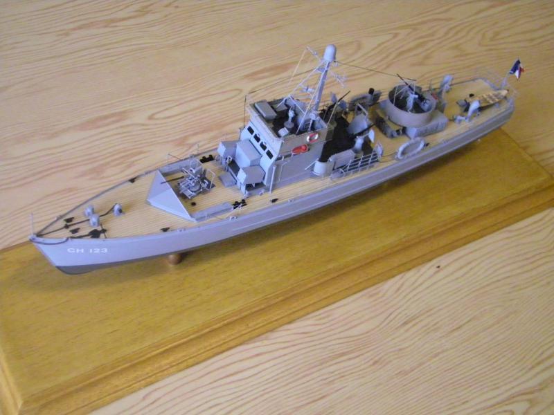 Chasseur de sous-marin CH 123 au 1/100e sur plan 1782261001715
