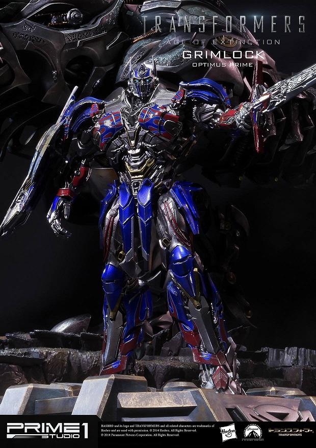Statues des Films Transformers (articulé, non transformable) ― Par Prime1Studio, M3 Studio, Concept Zone, Super Fans Group, Soap Studio, Soldier Story Toys, etc - Page 2 180888Prime1StudioMMTFM05GrimlockOptimusPrimeStatue111410887635