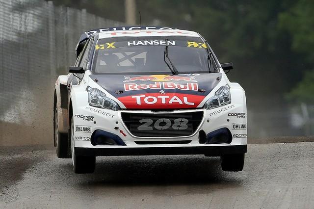 Troisième podium d'affilée pour Sébastien Loeb et la PEUGEOT 208 WRX, au Canada 1810085985e6acd1845zoom