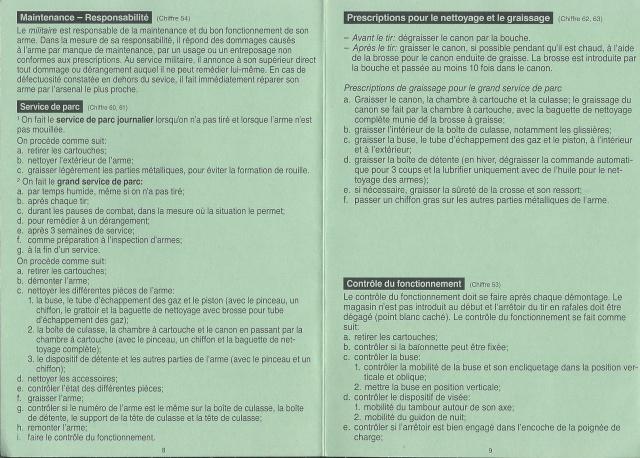 Notice sur le F.ass 90  Suisse 181277Fas905