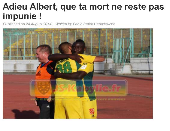 """Affaire """"Albert EBOSSE"""" (Sanctions FAF+CAF) 18201520140824"""