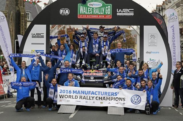 Victoire de Sébastien Ogier/Julien Ingrassia et quatrième titre constructeurs pour Volkswagen  182571hd012016wrc12bk63572