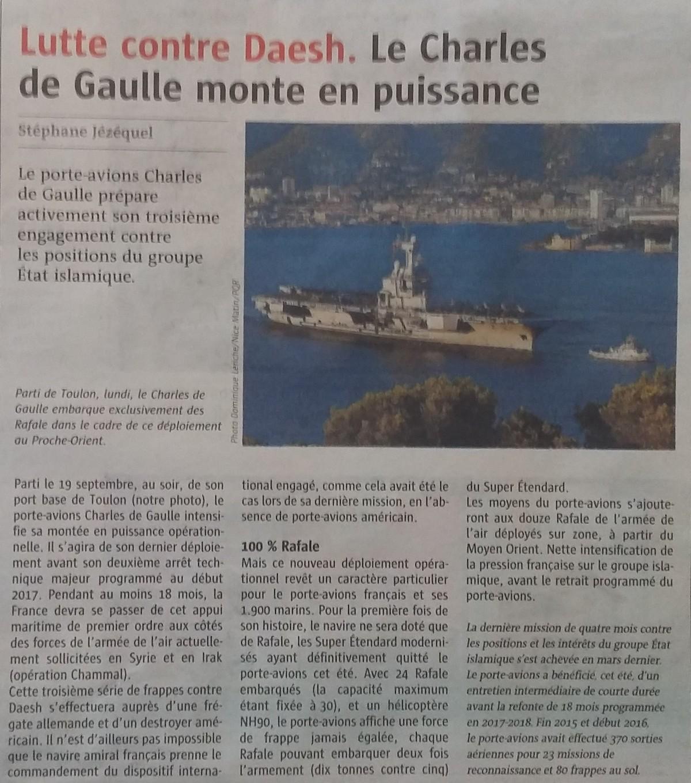 [ Porte-Avions Nucléaire ] Charles De Gaulle Tome 3 - Page 5 18573920160923114754