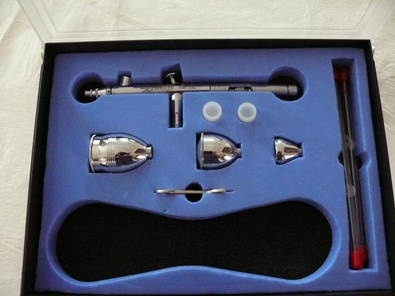 Comment changer l'aiguille de l'aérographe MLD Product RM-330 ? 187080aero01