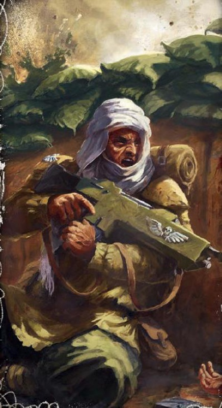 [W40K] Collection d'images : La Garde Impériale 188802Tallarntrooper