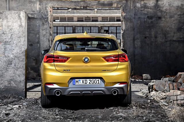 La nouvelle BMW X2 Silhouette élégante, dynamique exceptionnelle 189663P90278969highResthebrandnewbmwx2