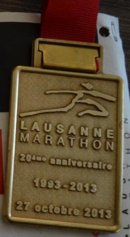 Marathon de Lausanne 190730medaille