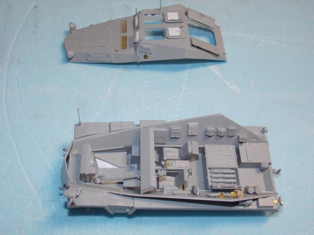 Quelque part front est été 41  Stug III ausf B (tamiya ) et SdKfz  252 (dragon ) 1/35 191161DSCN5375