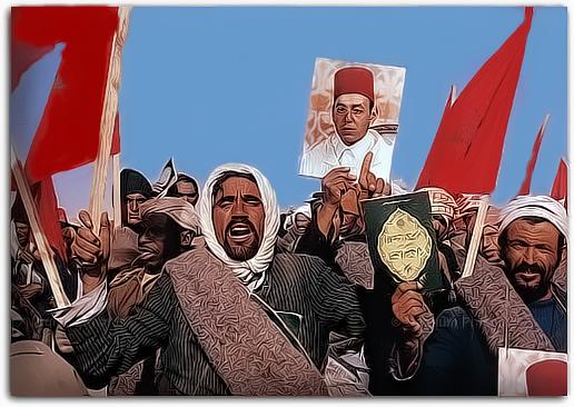 الصحراء مغربية  192576marcheverte