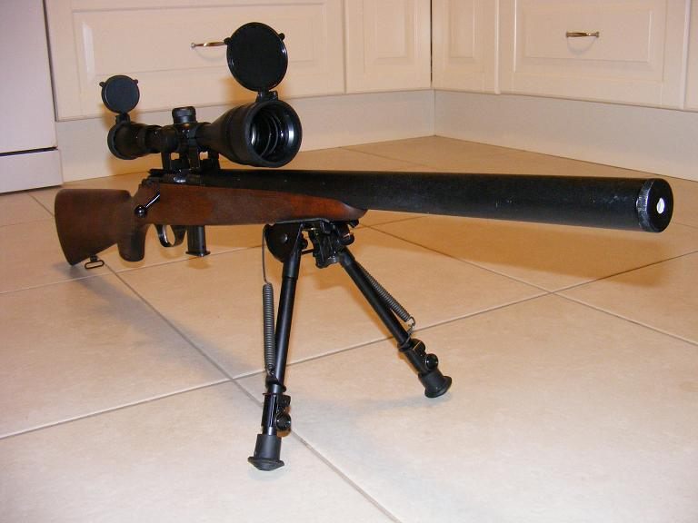 Mes armes longues : Savage Mark II BTVS  et  Custom Silence MK2 + cartons 192919DSCF0592