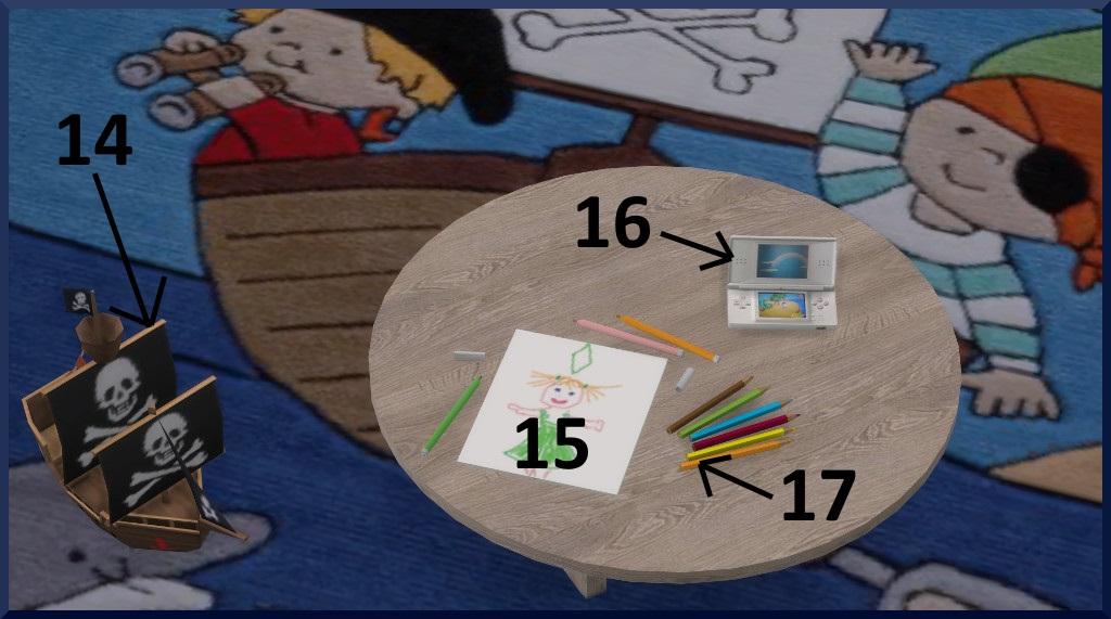 Vacances au bord de la mer 197454Chambreenfants1vuedtaille1avecnumros