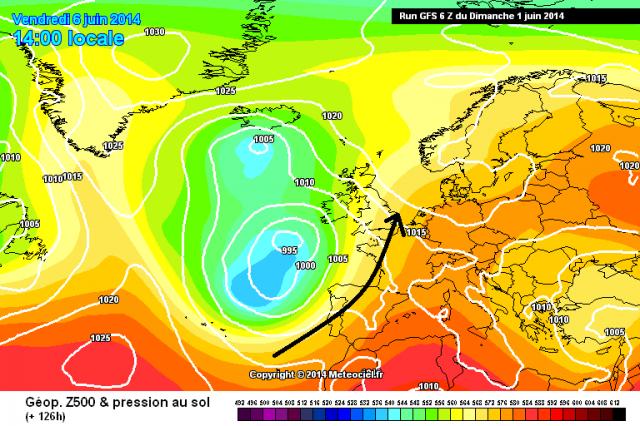Tendance météo à court, moyen et long terme à compter du 1/06/2014 pour la France - Page 3 199395gfs0126