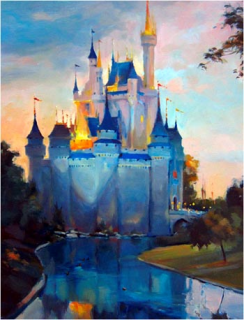 [Disneyland Park] The Disney Gallery - Exposition Crowning Achievements Creating Castles for Magical Kingdoms 199616cas8