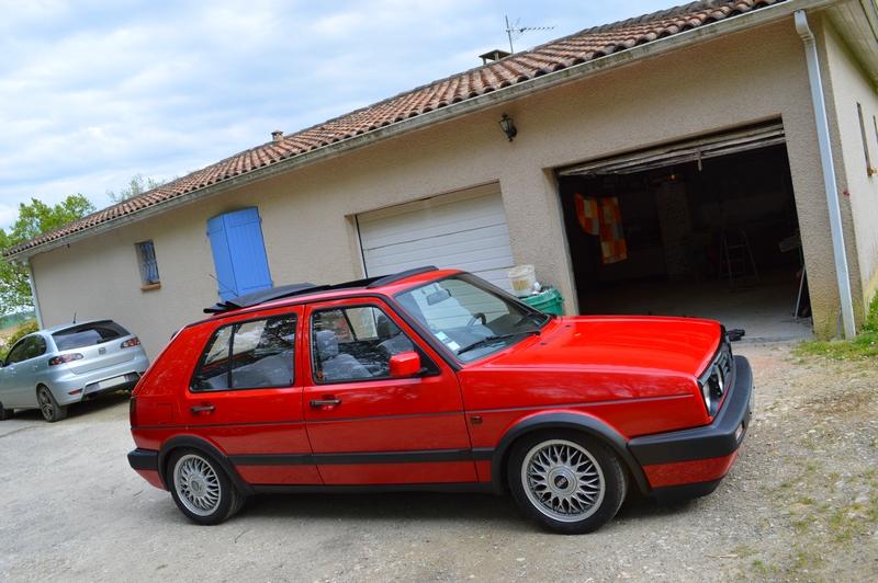[Golf 2 GTD 1989 Rouge Tornado] Mon Nouveau Daily 201492DSC1820