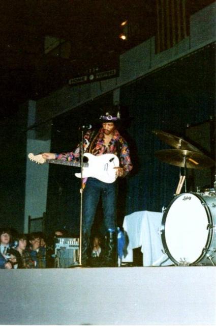 Cincinnati (Xavier University Fieldhouse) : 28 mars 1968  20433119680328Cincinatti02