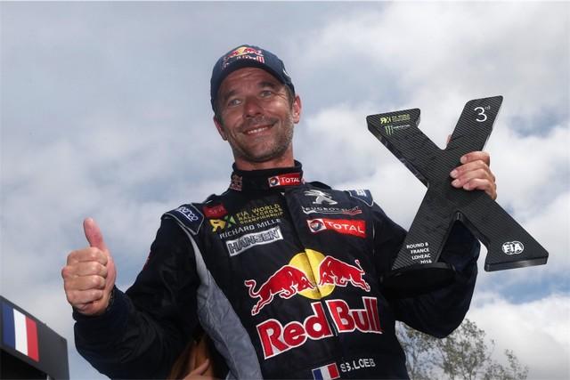 Rallycross - Beau podium de Sébastien Loeb et la PEUGEOT 208 WRX à domicile 2049872016RXFrance890