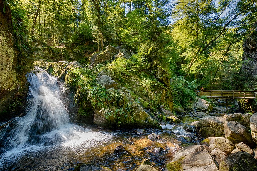 Cascades de Tendon dans les Vosges 206765cascades2