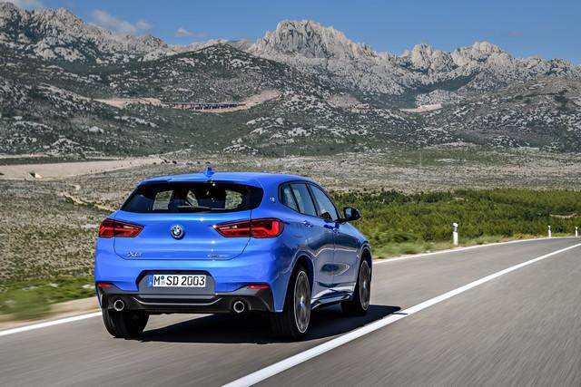 La nouvelle BMW X2 Silhouette élégante, dynamique exceptionnelle 207857P90278925highResthebrandnewbmwx2