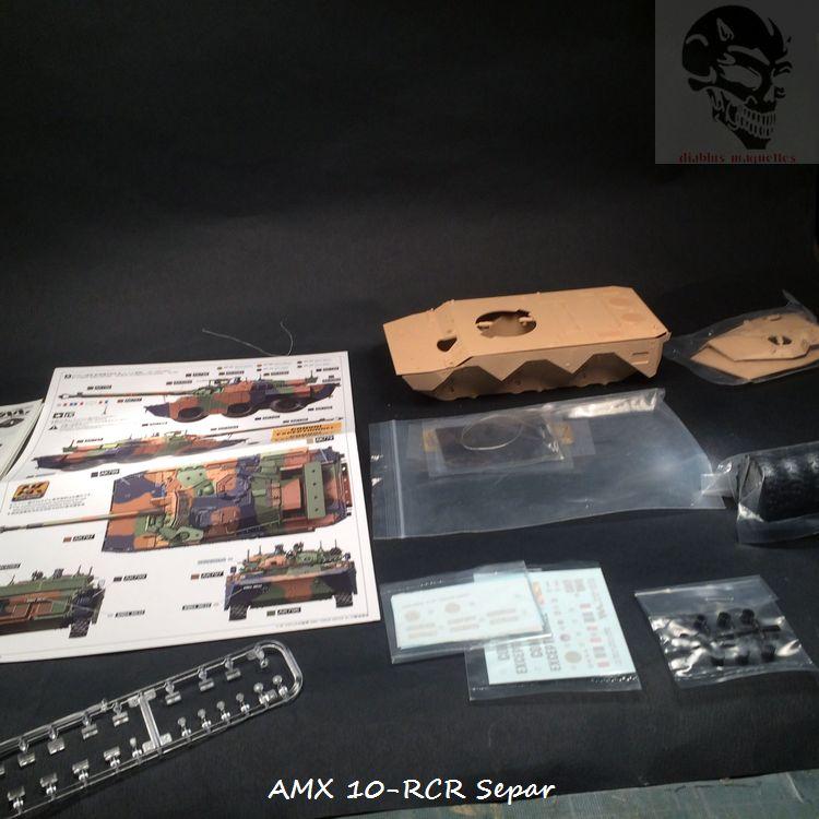 AMX 10 RCR SEPAR maquette Tiger Model 1/35 208479IMG3746