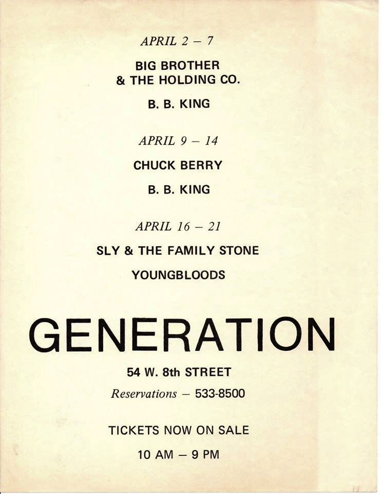 New York (Generation Club) : 7 avril 1968 209380GenerationprogrammeCopie