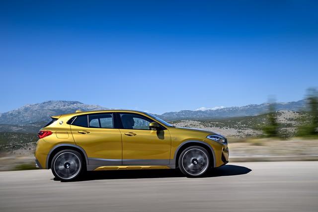 La nouvelle BMW X2 Silhouette élégante, dynamique exceptionnelle 209794P90278982highResthebrandnewbmwx2