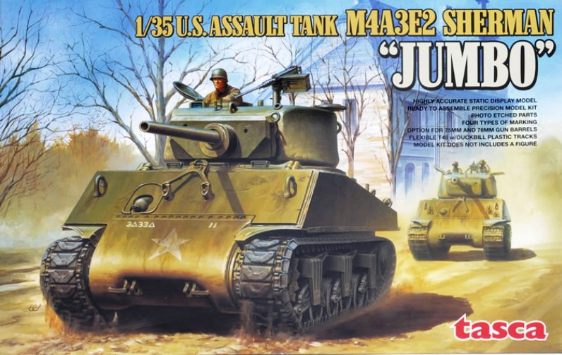 SHERMAN M4A3E2 JUMBO - TASCA 1/35 210146tasca35021