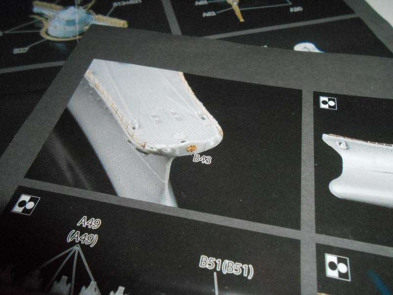 Yamato 1/700 fuji, PE,Pont en bois et babioles 210204loupyam001