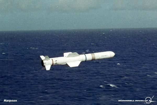 MCDONNELL-DOUGLAS F/A-18 HORNET  211117Harpoon