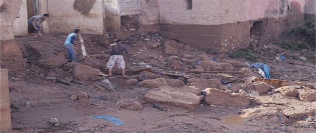 أمطار طوفانية «تضرب» مراكش وتعيد شبح فاجعة «أوريكا» 211569info13282011103400AM1