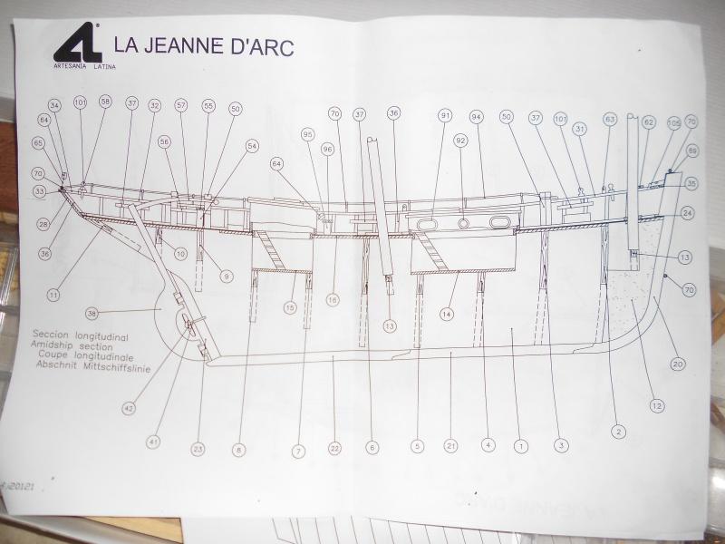 """Lougre """"Le Grand Lejon""""shistership de la """"Jeanned'Arc"""" au 1/35 AL 212952DSCN3805"""