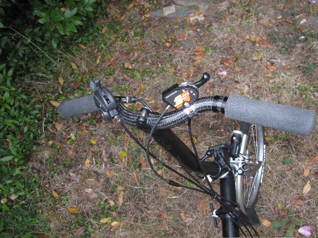 Commande de dérailleur pour 3 pignons sur une roue libre [Brompton 9 vitesses] •  213097IMG71321975